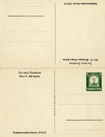 DR - 1934 , WHW  , Bild 38: Meiningen Und Bild 44: Loreley - Deutschland