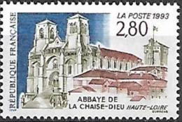 France - 1993 Yt 2825 Abbaye De La Chaise Dieu - France