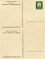 DR - 1934 , WHW  , Bild 163: Walchensee Und Bild 164: Saaleck - Deutschland