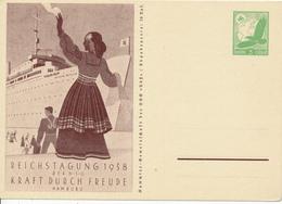 DR - 1938 , KdF  Kraft Durch Freude - Deutschland
