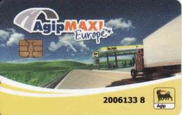 Transport Chip Card Agip Maxi Europe, Pump - Tank Card Agip Maxi Austria - Moteurs