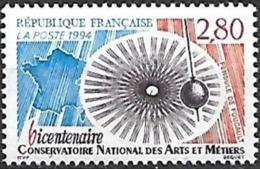 France - 1994 Yt 2904 Pendule De Foucault - France