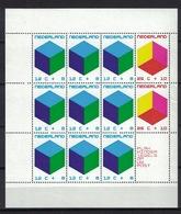 Nederland Pay Bas Olanda Netherlands 1970, Cube Kubus Cubo **, MNH, S/S - Periode 1949-1980 (Juliana)