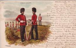 Militaria : DUBLIN FUSILIERS, Infanterie Irlandaise, - Irlanda Del Nord