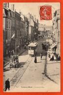 CPA - D54 - LONGWY-HAUT - (Meurthe Et Moselle) - Oblitéré 1909 - La  Grande Rue -  Animée  Beau Plan - - Longwy