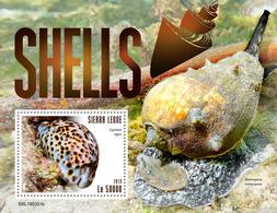 SIERRA LEONE 2019 - Shells S/S. Official Issue. - Schelpen