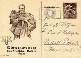 BERLIN-CHARLOTTENBURG - 1939 ,  WHW  Januar - Deutschland