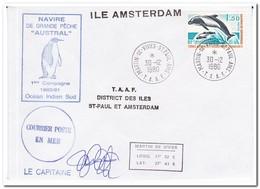 Frans Antarctica 1980, Fish, Birds - Franse Zuidelijke En Antarctische Gebieden (TAAF)