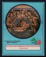 Burkina Fasso 1985 // Exposition Philatélique Italia85, Bloc-feuillet Neuf** MNH No.32 Y&T - Burkina Faso (1984-...)