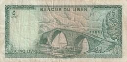 5 Livres - Libanon