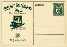 DR - 1940 , Tag Der Briefmarke - Deutschland