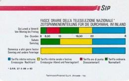FASCE ORARIE 1143 C&c / AA9 Golden, NUOVA BOLLATA - Italie