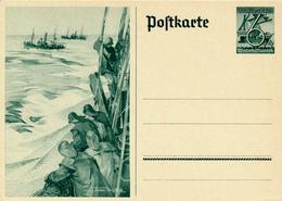 DR - 1937 , WHW  Hochseefischer - Deutschland