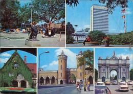 "Potsdam Freundschaftsinsel, Interhotel ""Potsdam"", Cecilienhof, Nauener Tor 1977 - Potsdam"