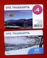 """GREECE: X-2359 """"Winter In Greece (3)"""" (80.000 Ex) 01/14 - Greece"""