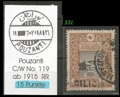 EARLY OTTOMAN SPECIALIZED FOR SPECIALIST, SEE...POUZANTI -RR- - 1858-1921 Osmanisches Reich
