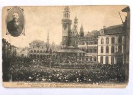Aalst Alost Grand Place Lors De L'exécution De La Cantate Rubens - Aalst