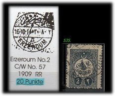 EARLY OTTOMAN SPECIALIZED FOR SPECIALIST, SEE...ERZEROUM -RR- - 1858-1921 Osmanisches Reich