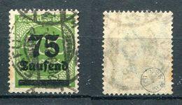 D. Reich Michel-Nr. 287a Vollstempel - Geprüft - Gebraucht