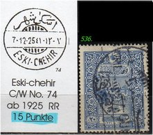 EARLY OTTOMAN SPECIALIZED FOR SPECIALIST, SEE...ESKI-CHEHIR -RR- - 1858-1921 Osmanisches Reich