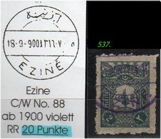 EARLY OTTOMAN SPECIALIZED FOR SPECIALIST, SEE...EZINE -RR- - 1858-1921 Osmanisches Reich