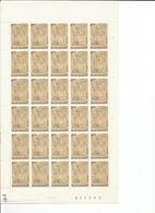 OCB 1868 Postfris Zonder Scharnier ** Volledig Vel ( Plaat 4 )  Lager Dan De Postprijs - Feuilles Complètes