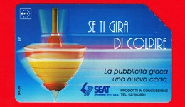 ITALIA - Scheda Telefonica - Usata - SIP - Trottole - Colpire - Golden 312 - C&C 2272 - 5.000 - Variante - Italia