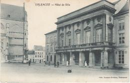 Tienen - Stadhuis En Omgeving - Geanimeerd - Uitg. Tassier-Swillen - Tienen