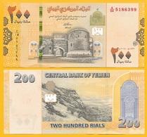 Yemen 200 Rials P-new 2018 UNC Banknote - Yemen