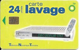 CARTE-PUCE-GEM 6--LAVAGE-BP-24-UNITES-DECODEUR TNT-BE - Frankrijk