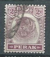Perak  - -    Yvert N°   19  Oblitéré   -  Bce  17715 - Perak