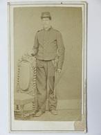 278 - CVA - Photo Ancienne - Uniforme Soldat - Sabre - Guerra, Militari