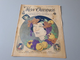 Revue Ancienne Broderie Mon Ouvrage 1926 N° 88  & - Magazines: Abonnements