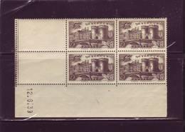 N° 445 - 90c VERDUN - Tirage Du 2.6.39 Au 13.6.39 - 12.06.1939 - - Esquina Con Fecha