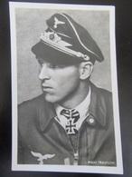 Postkarte Ritterkreuzträger Major Trautloff - Photo Hoffmann - Guerre 1939-45
