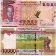 Guinea - 10000 Francs 2018 / 2019 UNC Lemberg-Zp - Guinea