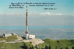 Près Col De La FAUCILLE, Panorama Sur Le Lac Léman Et Les Alpes - France