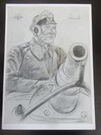 Postkarte Oberleutnant Von Jaworski - Willrich - Erhaltung II - Weltkrieg 1939-45