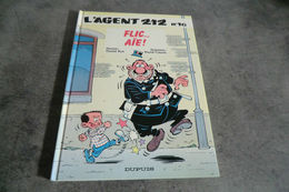 Album L'agent 212 - Flic...aie ! - N°16 - 1994 - - Agent 212, L'