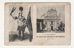 Santino Cartolina Antico Non Viaggiata Santuario San Pancrazio Da Pianezza - Torino - Religione & Esoterismo