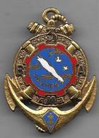 3e Batterie Autonome Artillerie De Marine - NOUMEA - Insigne émaillé Drago 1802 - Armée De Terre