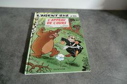Album L'agent 212 - L'appeau De L'ours - N°15 - 1993 - - Agent 212, L'