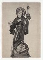 Santino Cartolina Antico Non Viaggiata San Pasquale Baylon Da Airola - Benevento - Religione & Esoterismo