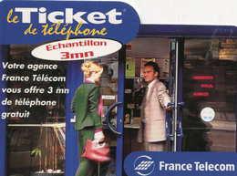 TICKET Téléphone  =  Votre Agence Vous Offre ..    31/07/2000 - France