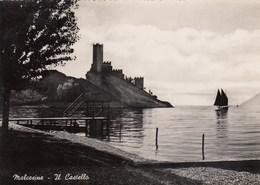 MALCESINE-VERONA-LAGO DI GARDA-IL CASTELLO-CARTOLINA VERA FOTOGRAFIA NON VIAGGIATA ANNO 1955-960 - Verona