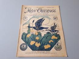 Revue Ancienne Broderie Mon Ouvrage 1927 N° 101 & - Riviste: Abbonamenti