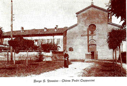 ITALIA - 1984 FIDENZA (PR)  Cent. Chiesa Dei Cappuccini - 3^ Mostra Filatelica Su Cartolina Speciale - Esposizioni Filateliche