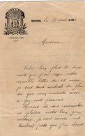 VP14.796 - Colegio De La Sagrada Familia MONTEVIDEO 1924 - Lettre De Mr H. ANTELMO - Manuscrits