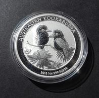 Australia, Kookaburra 1 Oz 2013 Silver 9999 Pure - 1 Oncia Argento Puro Bullion Perth Min - Australia
