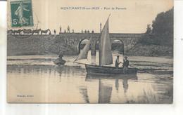 Montmartin Sur Mer, Pont De Passevin - Montmartin Sur Mer